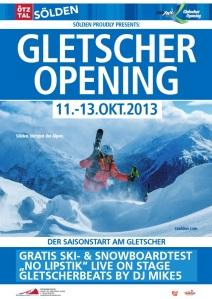 Soelden Gletscher Opening 2013