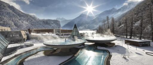 Aqua Dome - Erholung nach dem Skifahren