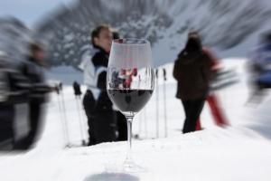 """Im Vordergrund: Der Weingenuss! Aber das """"Wein am Berg"""" in Sölden bietet noch viel viel mehr..."""